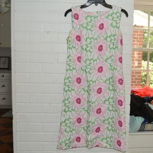 Talbots Floral Shift Dress